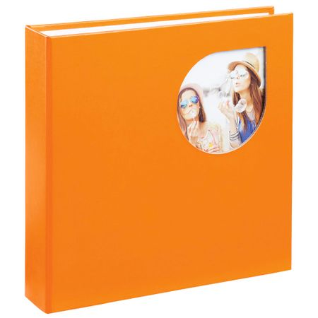 Hama foto album Cumbia, 10 x 15 cm, 200 slik, oranžen