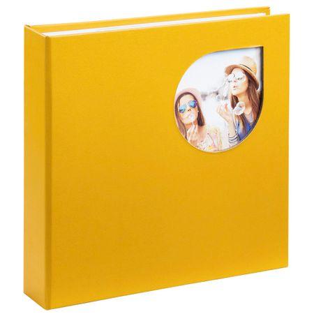 Hama foto album Cumbia, 10 x 15 cm, 200 slik, rumen