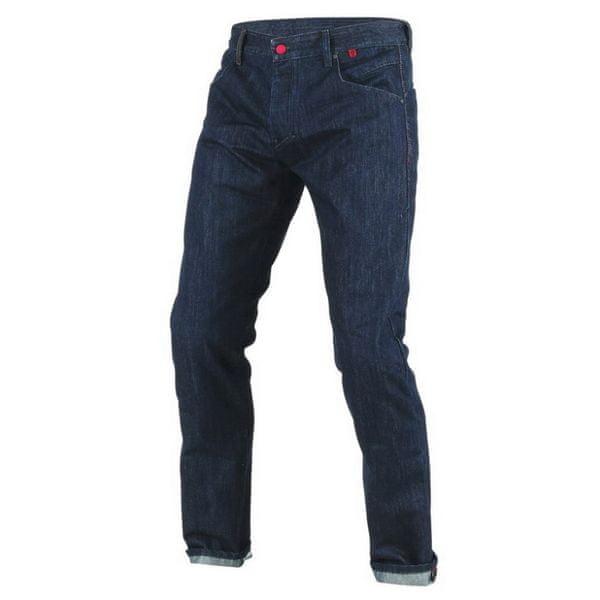 Dainese kalhoty - jeans STROKEVILLE SLIM/REGULAR vel.34, denim/kevlar
