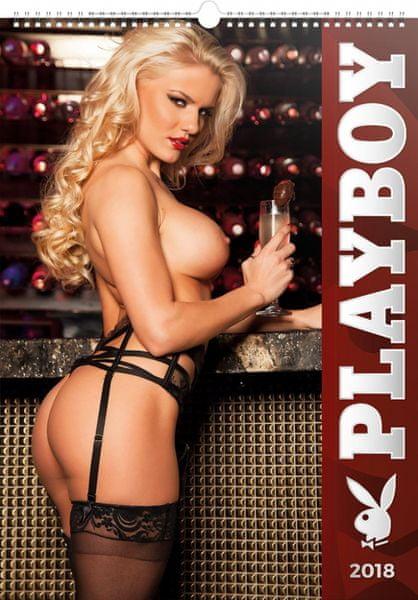 Nástěnný kalendář Playboy 2018