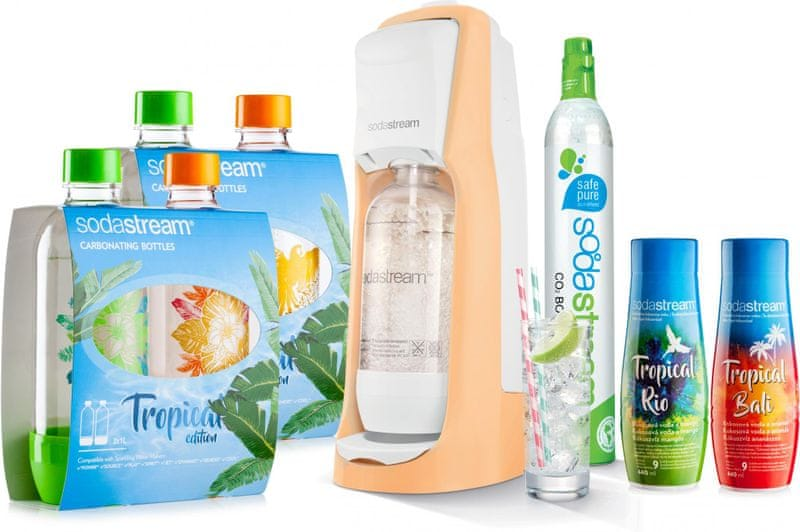 Sodastream JET Orange Tropical Edition 4+2