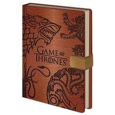 Zápisník Game of Thrones - Sigils (velikost A5)