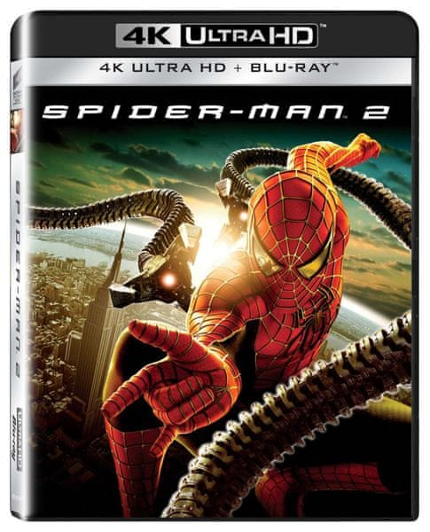 Spider-Man 2 (2 disky) - Blu-ray + 4K ULTRA HD