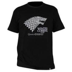 "Tričko Game of Thrones - ""Winter is coming"" pánské, černé L"