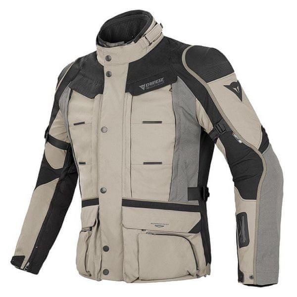 Dainese bunda D-EXPLORER GORE-TEX vel.50 písková/černá/šedá, textilní