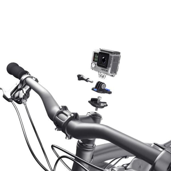SP GADGETS Set pro uchycení GOPRO na střed řídítek kola Stem Cap Mount, SP Gadgets