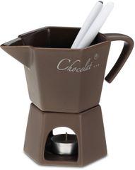 Kela Čokoládové fondue PAOLA keramika 10x14,5cm