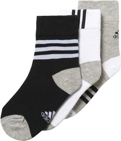 Adidas nogavice LK, 3 pari, 31-34