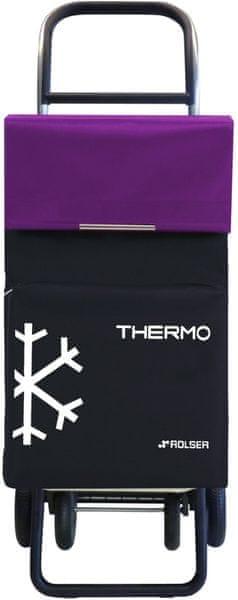 Rolser Nákupní taška na kolečkách Termo Fresh MF Convert RG, fialová