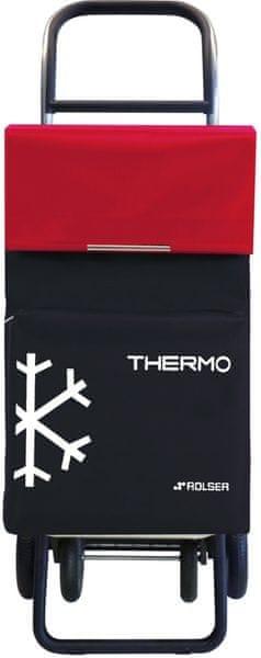 Rolser Nákupní taška na kolečkách Termo Fresh MF Convert RG, červená