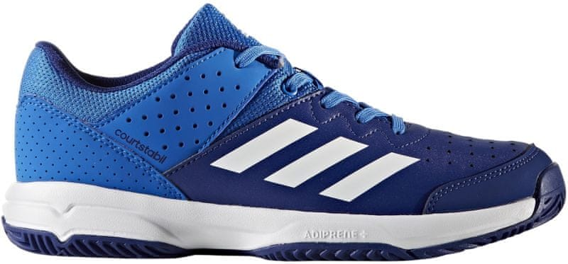 Adidas Court Stabil Jr Blue/Ftwr White/Mystery Ink 35.5