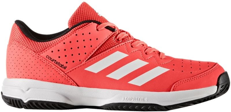 Adidas Court Stabil Jr Solar Red/Ftwr White/Core Black 33,5