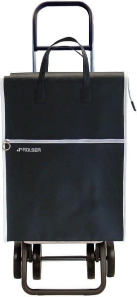 Rolser Nákupní taška na kolečkách Lider LT Dos +2, černá