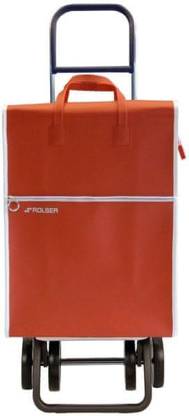Rolser Nákupní taška na kolečkách Lider LT Dos +2, červená