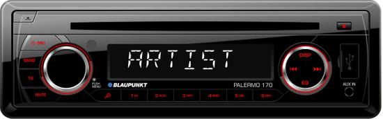 BLAUPUNKT radioodtwarzacz samochodowy Palermo 170