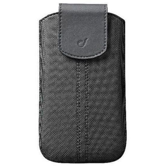 CellularLine univerzalna torbica SlidePull, 13,7 cm (5,4), črna
