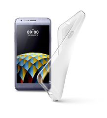 CellularLine SHAPE gumijast ovitek za LG X CAM, črn
