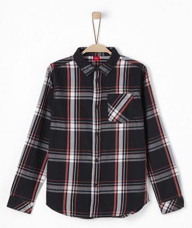 s.Oliver chlapecká košile S černá