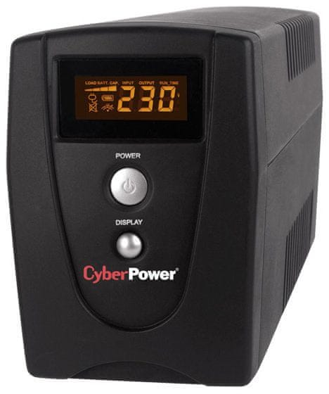 CyberPower Green Value UPS 1000VA/550W LCD (VALUE1000EILCD)