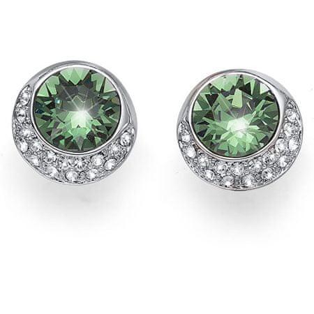 Oliver Weber Kolczyki z zielonym kryształem Very 22650R 360