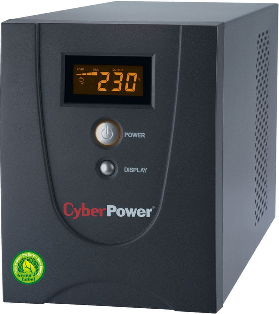 CyberPower GreenPower Value LCD UPS 1200VA/720W (VALUE1200EILCD)