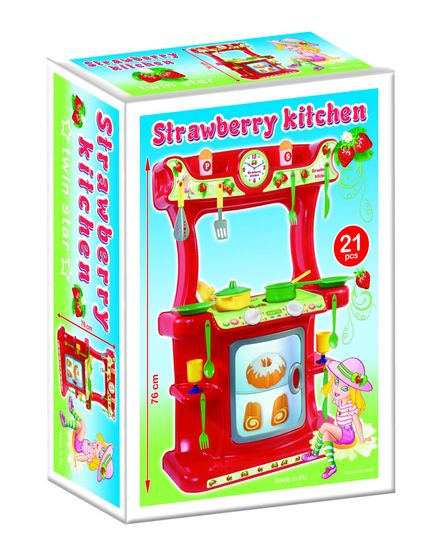 Dohany Kuchyňa Strawbery 76cm
