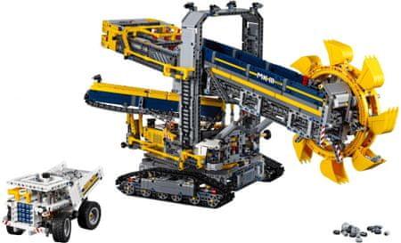 LEGO Technic 42055 Górnicza koparka kołowa