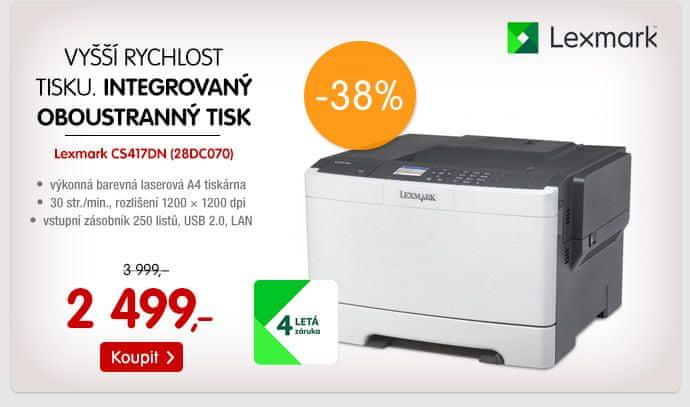 Tiskárna Lexmark CS417DN