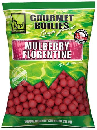 ROD HUTCHINSON Boilies Mulberry Florentine With Protaste Plus 1 kg, 15 mm