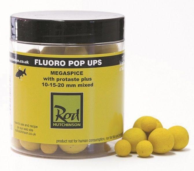 ROD HUTCHINSON Fluoro Pop-Up Yellow Megaspice 10-15-20 mm