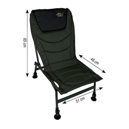 Carp Spirit Kreslo Level Chair Matelasse