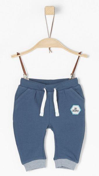 s.Oliver chlapecké kalhoty 50/56 modrá