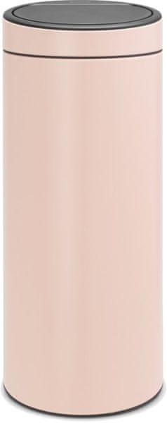 Brabantia Koš Touch Bin New 30L růžová