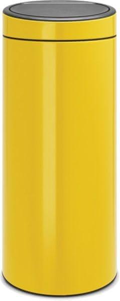 Brabantia Koš Touch Bin New 30L žlutá