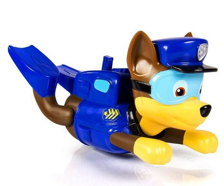 Spin Master Psi Patrol - Pływająca figurka Chase