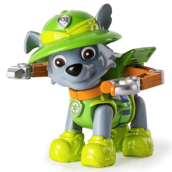 Spin Master Paw Patrol Figurka s příslušenstvím Rocky
