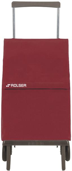 Rolser Nákupní taška na kolečkách Plegamatic Original MF, vínová