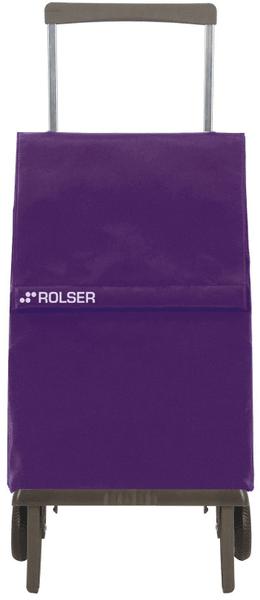 Rolser Nákupní taška na kolečkách Plegamatic Original MF, fialová