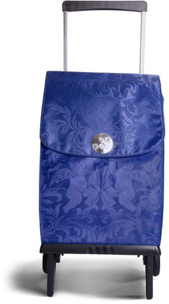 Rolser Nákupní taška na kolečkách Plegamatic Orbita Gloria, modrá