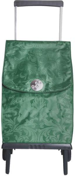 Rolser Nákupní taška na kolečkách Plegamatic Orbita Gloria, zelená
