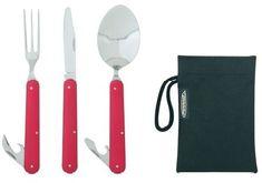Ferrino zestaw sztućców Clip cutlery