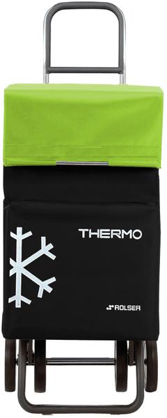 Rolser Nákupní taška na kolečkách Termo Fresh MF Dos +2, zelená
