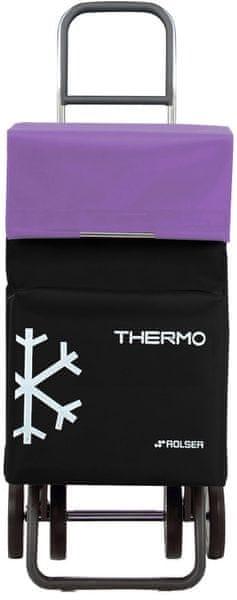 Rolser Nákupní taška na kolečkách Termo Fresh MF Dos +2, fialová