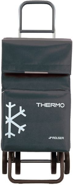Rolser Nákupní taška na kolečkách Termo Fresh MF Dos +2, šedá
