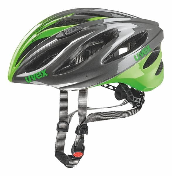 Uvex Boss Race Grey/Neon Green 52-56