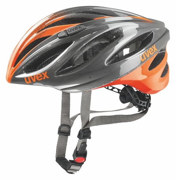 Uvex Boss Race Grey/Neon Orange 55-60
