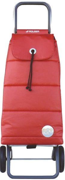 Rolser Nákupní taška na kolečkách Pack Polar Logic RG, červená