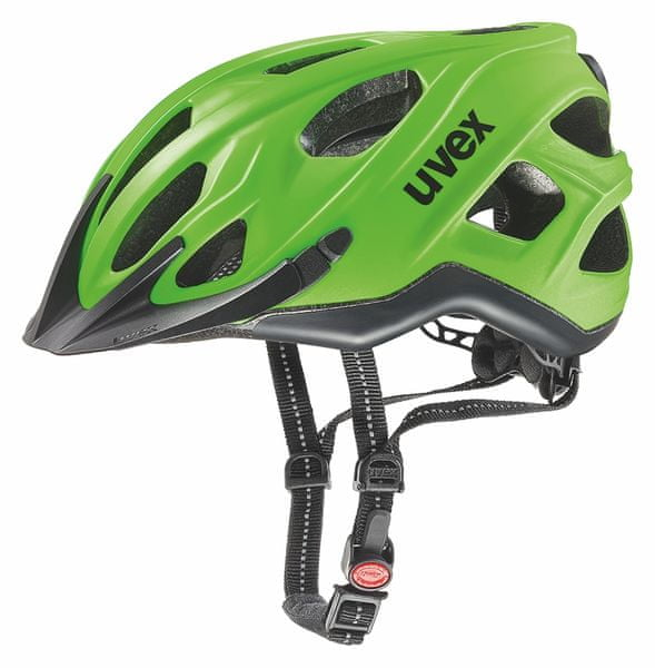 Uvex City S Neon Green/Black Mat 52-57