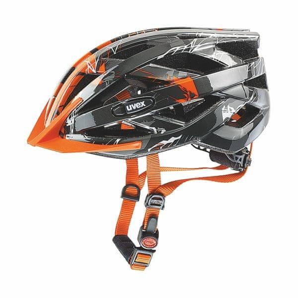 Uvex I-Vo C Dark Silver/Orange 52-56