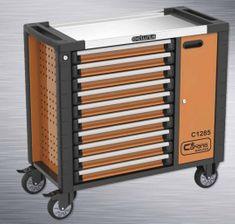 CORONA Montážní vozík na nářadí 10 zásuvek (C1285)